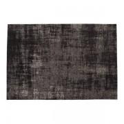 Maisons du monde Tappeto nero in cotone 140 x 200 cm FEEL