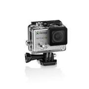 Multilaser Câmera De Ação Sport HD, Tela De LCD 2 Pol. 5MP + Cartão 16GB Prata Mirage - MR3000 MR3000