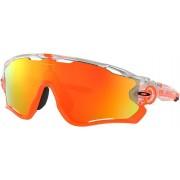 Oakley Jawbreaker Sonnenbrille Crystal Pop / Fire Iridium