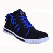 Shoe Striker Canvas Shoes For Men(Black)