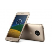 "Smartphone, Motorola Moto G5, DualSIM, 5"", Arm Octa (1.4G), 3GB RAM, 16GB Storage, Android 7.0, Gold (PA610021RO)"