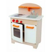 HAPE Beleduc E3100 Gourmet Kitchen (White) [Toy]