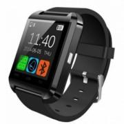 Smartwatch iUni U8+ BT LCD 1.44 inch Notificari Negru Bonus Bratara Roca Vulcanica unisex