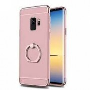 Husa Samsung Galaxy S9 Elegance Luxury 3in1 Ring Rose-Gold