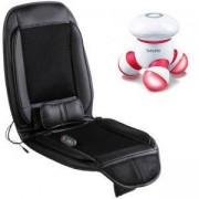 Електрическа подложка Rexton, за офис стол или автомобил CF-2409 + Мини масажор Beurer MG 16