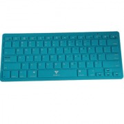 Callmate Bluetooth Keyboard with B.T USB Dongle - Sky Blue