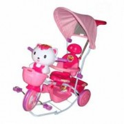 Tricicleta EURObaby Hello Kitty - Roz