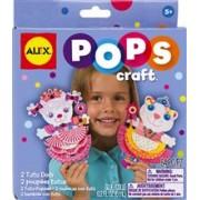 Pops Craft Doua Papusi Tutu Din Hartie Alextoys (Ax1191-5)