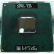 Processeur - Intel Pentium Dual-Core Mobile T3400 - 2.16 GHz - FSB 667 MHz - L2 1 Mo - Socket P - SLB3P