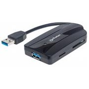 Manhattan SuperSpeed USB 3.0 Hub and Card Reader