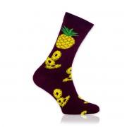 Férfi zokni val vel ananász minta 10699