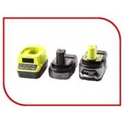 Комплект Ryobi ONE+ 1x4.0Ah + 1x2.0Ah Lithium + зарядное устройство RC18120-242 5133003365