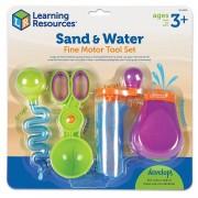 Set ustensile pentru experimente Apa si Nisip Learning Resources