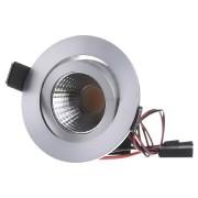 33261253 - LED-Einbaustrahler-Set 230V 2700K alu 33261253