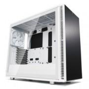 Кутия Fractal Design Define S2 White – TG, mATX, ATX, ITX, EATX, USB 3.1 Gen 2 Type-C, черна, без захранване