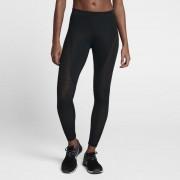Nike Pro HyperCool Trainings-Tights mit halbhohem Bund für Damen - Schwarz