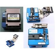 High Precision Fiber Optic Cleaver 125um Fiber Optic Cable Cutter
