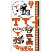 Texas Longhorns UT NCAA Temporary Tattoos (10 Tattoos)