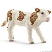 Schleich Simmental Calf, Multi Color