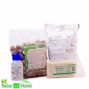 Pachet Nuci de Săpun 500g & Percarbonat de sodiu 1000g & Parfum pentru rufe 100 ml CADOU Sapun de casa ecologic 200g