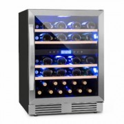 Vinovilla Duo43 Two-Zone Wine Refrigerator 129l 43 Bottles 3-Colour Glass Door