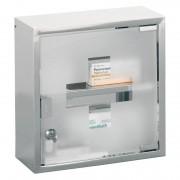 ZELLER Kovová lékárnička, skříňka na léky - 2 úrovně, ZELLER