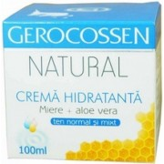 Natural crema hidratanta ten normal si mixt 100ml Gerocossen