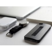 Калъф с USB кабел за Apple iPhone 6 Черен