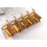 Forme Reutilizabile, aurii, set 5 buc, art. nr.: 761526