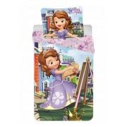 Disney Szófia ovis ágyneműhuzat lila 90x140cm 40x55cm