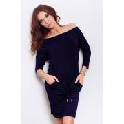 numoco Tmavě modré sportovní šaty model 4975085 L