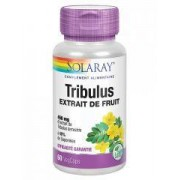 Solaray Tribulus Fruit Extract 60 Vegetable Capsules - Bote 60 Cápsulas vegetales