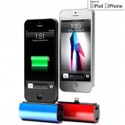 Phonesuit Flex Pocket Charger - външна батерия 2600 mAh с Lightning за iPhone 5, iPhone 5S, iPhone SE, iPhone 5C, iPod Touch 5 и iPod Nano 7 (син)