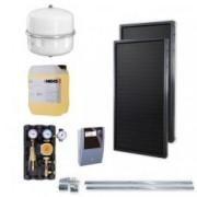 Kit panouri solare Idella Family Standard IFST 2.02 mp cu rezervor de stocare a apei menajere
