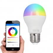 Milight RGBW Led lamp set met Wifi module 6 Watt E27 fitting