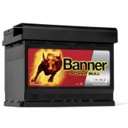 Banner Power Bull P6219 jobb pozitív 62Ah / 540A akkumulátor