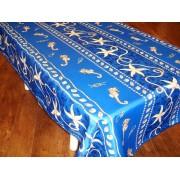 Mantel Antimanchas de Poliéster - Modelo MARINERO - Azul