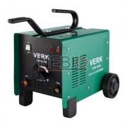 Aparat de sudura cu arc Verk VAW-250A, Electrod 2.5 - 5 mm, 20 Kg, Accesorii incluse, Verde