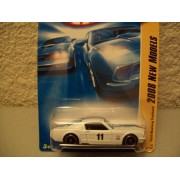 Hot Wheels 2008 New Models White Ford Mustang Fastback