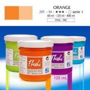 Flashe akrilfesték, 125 ml - 201, orange