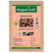 Shagun Gold 100 Percent Natural Aritha Powder For Silky Smooth Hairs Naturally (250Gm)