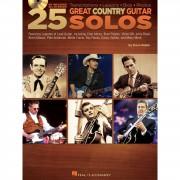 Hal Leonard Dave Rubin: 25 Great Country Guitar Solos