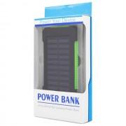 Maxy Caricabatterie Solare F5 Power Bank Carica Batteria Usb 10000mah Universale Green Per Modelli A Marchio Lenovo