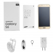 ER Renovado Samsung Galaxy S6 G920 De 5,1 Pulgadas 16MP 32G Smartphone Capacitivo -Golden