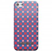 Nintendo Super Mario Checkerboard Pattern Telefoonhoesje - iPhone 8 - Snap case - glossy