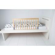 Protectie laterala pentru pat bebe natur Baby Dan
