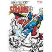 Marvel Colour Your Own Doctor Strange Graphic Novel