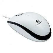 Mouse Logitech Optico M100 USB 1000dpi Blanco