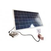 Kits Autoconsumo fotovoltaicos entre 280W e 1700W _ estrutura Telhado plano