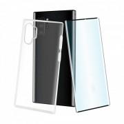 Muvit Pack Funda Cristal Soft Transparente + Cristal Templado para Samsung Galaxy Note 10 Plus